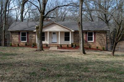 Clarksville TN Single Family Home For Sale: $189,000