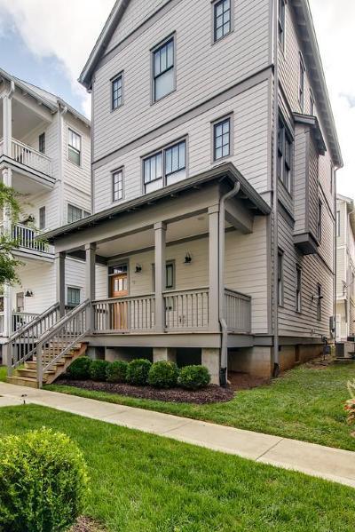 Nashville Single Family Home For Sale: 204 Burns Ave Apt 9