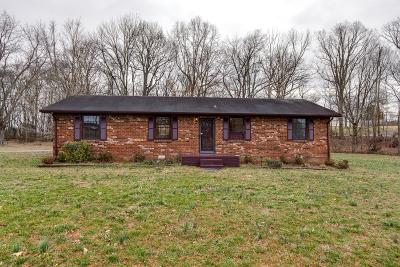 White House Single Family Home Under Contract - Not Showing: 2665 Union Rd