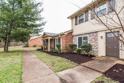 Nashville  Condo/Townhouse Under Contract - Not Showing: 8207 Sawyer Brown Rd Apt F2