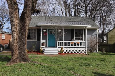 Nashville Single Family Home Under Contract - Showing: 2404 Underwood St