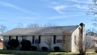 Gallatin Single Family Home Under Contract - Showing: 603 Long Hollow Pike