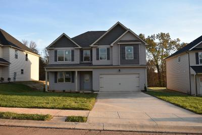 Clarksville Single Family Home For Sale: 1208 Henry Place Blvd.