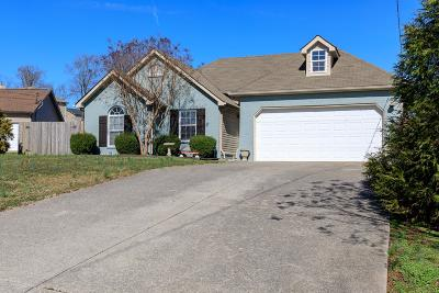 Lavergne Single Family Home Under Contract - Not Showing: 1102 Maxie Ct