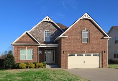 Clarksville TN Single Family Home For Sale: $282,500
