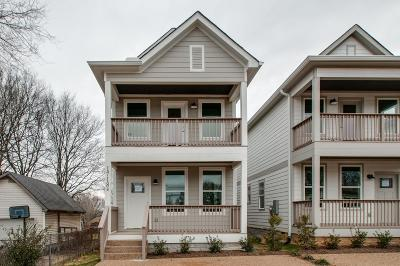 Nashville Single Family Home For Sale: 1718 B Simpkins