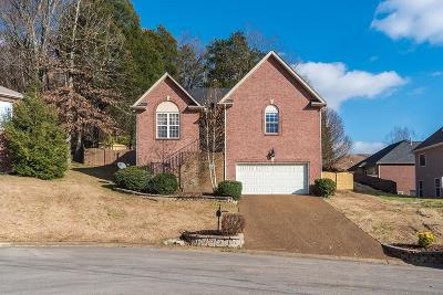 Old Hickory Single Family Home For Sale: 102 Muir Ct