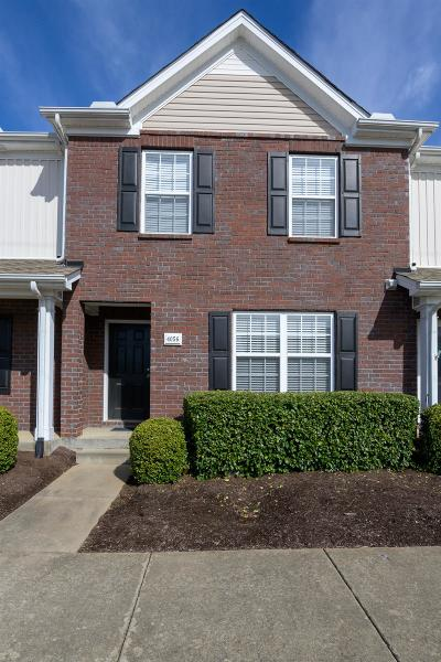 Lavergne Condo/Townhouse For Sale: 4056 George Buchanan Dr