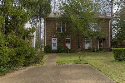 Nashville Single Family Home For Sale: 3316 Belmont Blvd