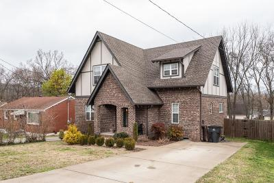 Nashville Single Family Home Under Contract - Showing: 797 Gillock St