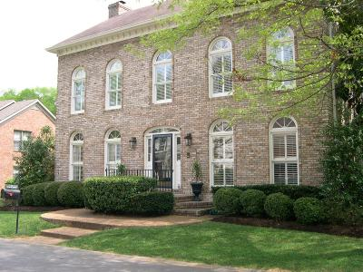 Nashville Single Family Home Under Contract - Not Showing: 110 Wentworth Ave