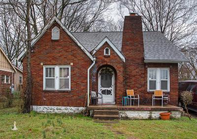 Nashville Single Family Home For Sale: 1343 Pennock Ave