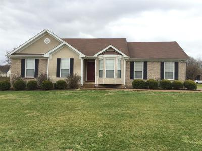 Spring Hill Rental For Rent: 1761 Witt Way Drive
