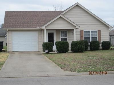 Rutherford County Single Family Home Under Contract - Not Showing: 2705 Windwalker Court