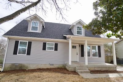 Lavergne Single Family Home Under Contract - Not Showing: 225 Centennial Dr