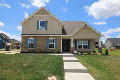 Clarksville TN Single Family Home Under Contract - Showing: $269,550