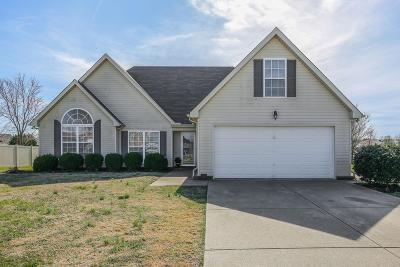 Murfreesboro Single Family Home Under Contract - Showing: 115 Emma Ct