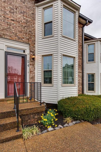 Hendersonville Condo/Townhouse For Sale: 250 Sanders Ferry Rd Apt 54