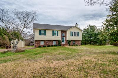 Spring Hill Single Family Home For Sale: 2142 Clara Mathis Rd