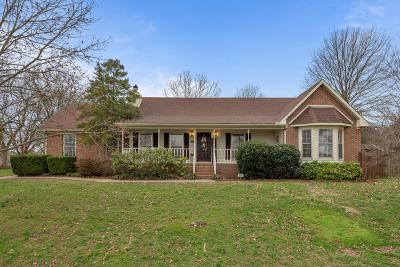 Murfreesboro Single Family Home For Sale: 2712 Crosswoods Dr