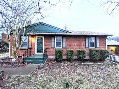 Nashville Single Family Home For Sale: 1917 Dabbs Ave