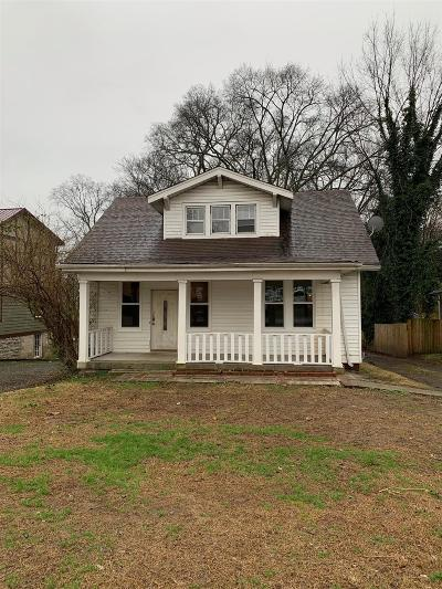 Nashville Single Family Home For Sale: 1116 Shelton Ave