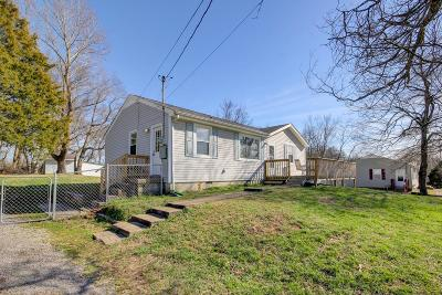 Clarksville TN Single Family Home For Sale: $109,900