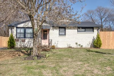 Old Hickory Single Family Home For Sale: 135 Scenic View Rd