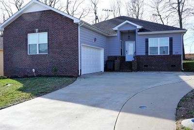 Clarksville TN Single Family Home For Sale: $213,900