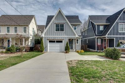East Nashville Single Family Home Under Contract - Showing: 1509 B Wayne Dr