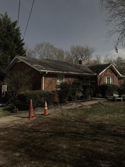 Murfreesboro Single Family Home For Sale: 1215 Bradyville Pike