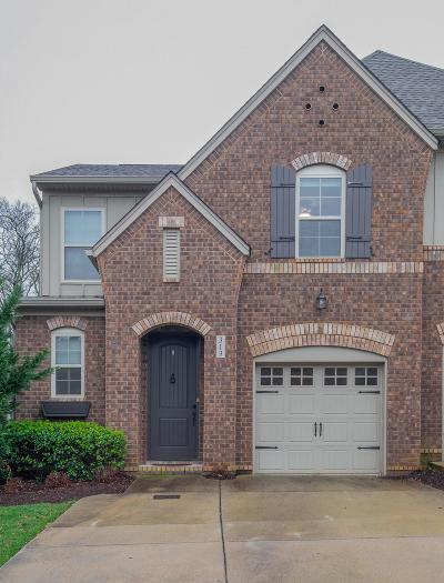 Mount Juliet Condo/Townhouse For Sale: 313 Windgrove Ter