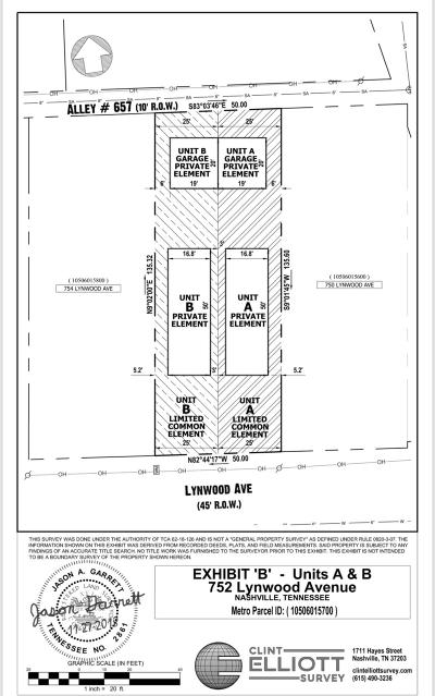Nashville Residential Lots & Land For Sale: 752 Lynwood