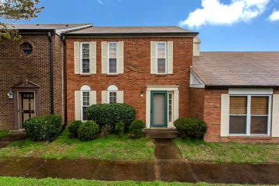 Nashville Condo/Townhouse For Sale: 302 Huntington Ridge