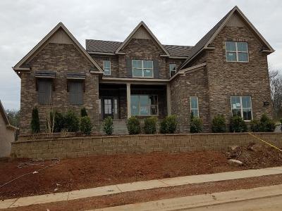 Nolensville Single Family Home For Sale: 921 Redstone; Lot 5