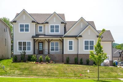 Nolensville Single Family Home For Sale: 168 Telfair Ln., Lot 65