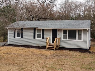 Clarksville Single Family Home Under Contract - Showing: 214 Old Hopkinsville Hwy