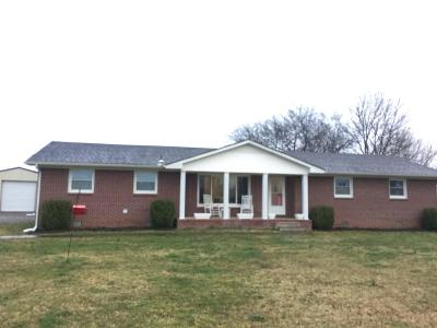 Shelbyville Single Family Home Under Contract - Showing: 2908 Midland Rd