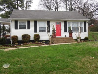 Columbia  Single Family Home Under Contract - Not Showing: 102 Brookview Cir