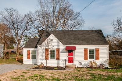 Nashville Single Family Home For Sale: 3002 Wingate Ave
