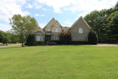 Franklin Single Family Home Under Contract - Not Showing: 3061 Trotters Ln