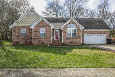 Murfreesboro Single Family Home For Sale: 367 Meigs Dr