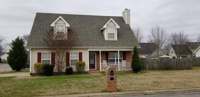 Murfreesboro Single Family Home Under Contract - Showing: 1336 Mac Duff Dr