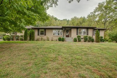 Nashville Single Family Home For Sale: 119 Cheekwood Terrace