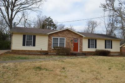 Christian County, Ky, Todd County, Ky, Montgomery County Single Family Home For Sale: 408 Louise Ln