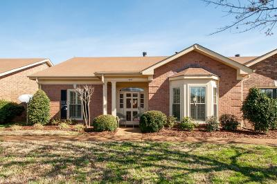 Davidson County Condo/Townhouse For Sale: 8547 Sawyer Brown Rd