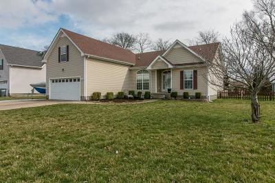 Clarksville TN Single Family Home For Sale: $187,000