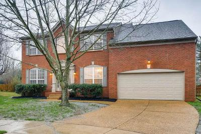 Franklin TN Single Family Home Under Contract - Showing: $410,000