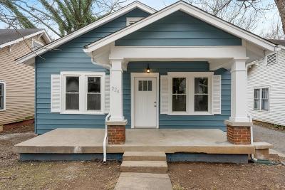 Murfreesboro Single Family Home For Sale: 224 S Bilbro Ave
