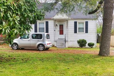 Nashville TN Single Family Home For Sale: $264,900